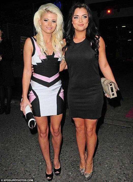 Danielle Harold and Shona McGarty, EastEnders' Lola Pierce and whitney Dean #EastEnders