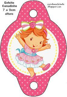 Kit Festa Moranguinho Baby Para Imprimir Grátis straw holders free