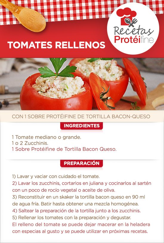 Hoy te presentamos una #receta que nos encanta y que puede estar presente en tu mesa. TOMATES RELLENOS #Salud #Nutrición #tomates #Ysonut