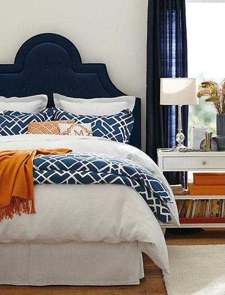 Les essentiels d'une chambre cosy | Les idées de ma maison © Photo: Pottery Barn #deco #chambre #refuge #confort #chaleureux #tetedelit