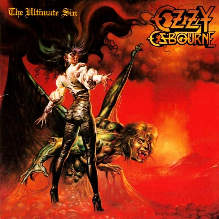 "One of a few albums that I bought in 10th grade that really mattered - Ozzy Osbourne. ""Ultimate Sin"" (1986)"