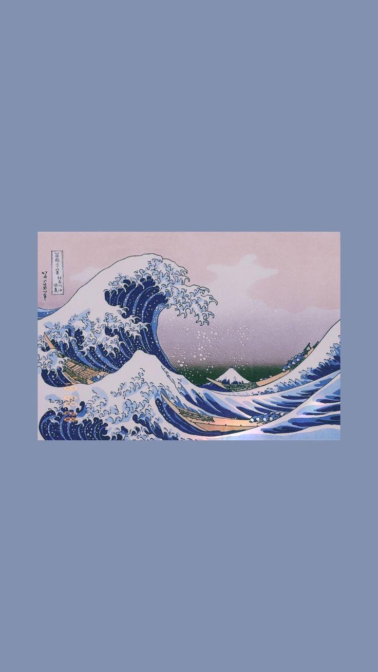 Wallpaper – the great wave