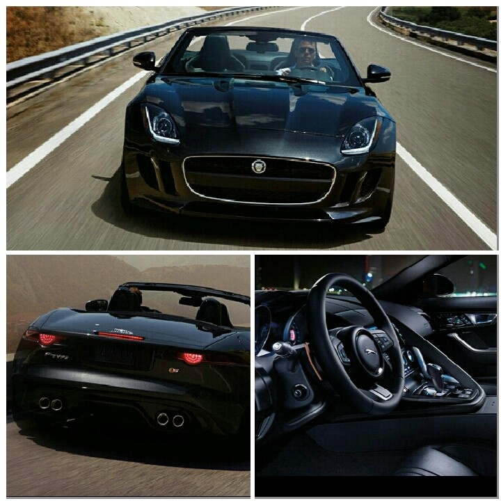Jaguar F-Type Black on Black