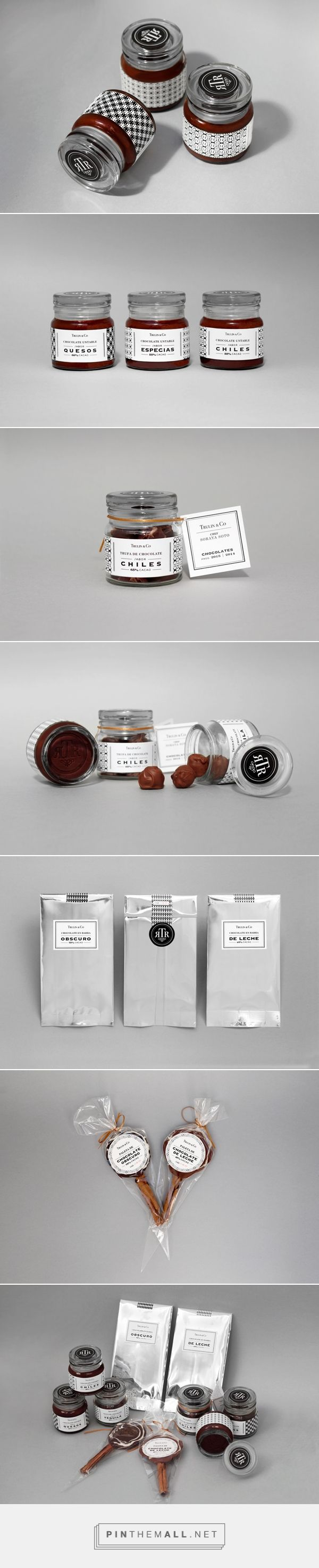 Trulin & Co. Chocolates#packaging