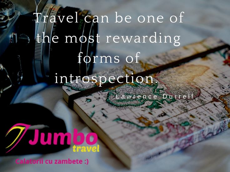 Travel can be one of the most rewarding forms of introspection. www.expoanunturi.ro