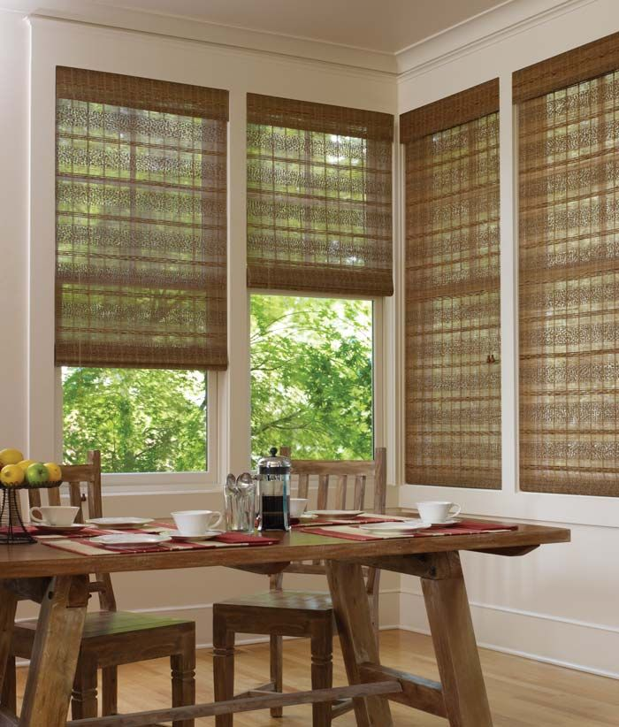 17 best images about woven wood shades on pinterest for Best shades for windows