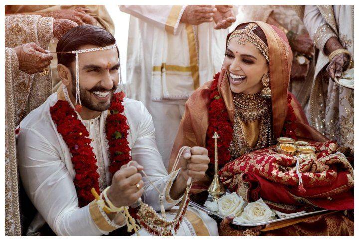 Ranveer Singh And Deepika Padukone Wedding Photo Indian Wedding Photography Bollywood Wedding Wedding Photography Inspiration Awesome