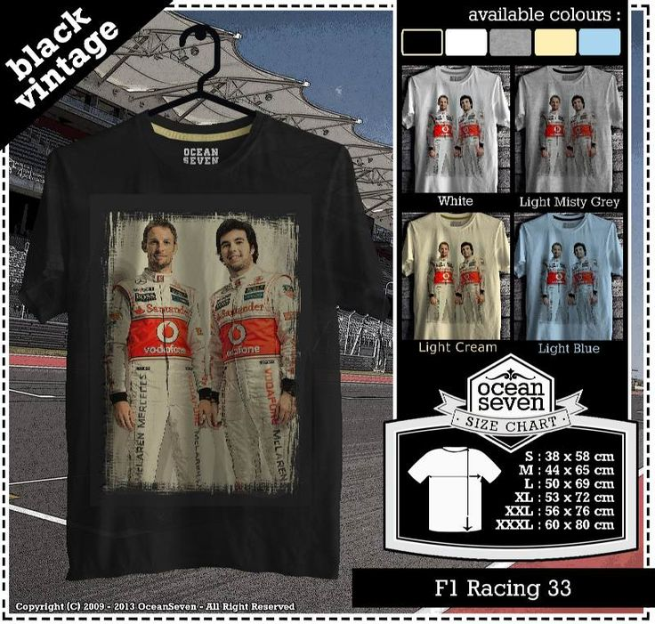 Kaos Balap F 1 | Formula One Racing  series 3