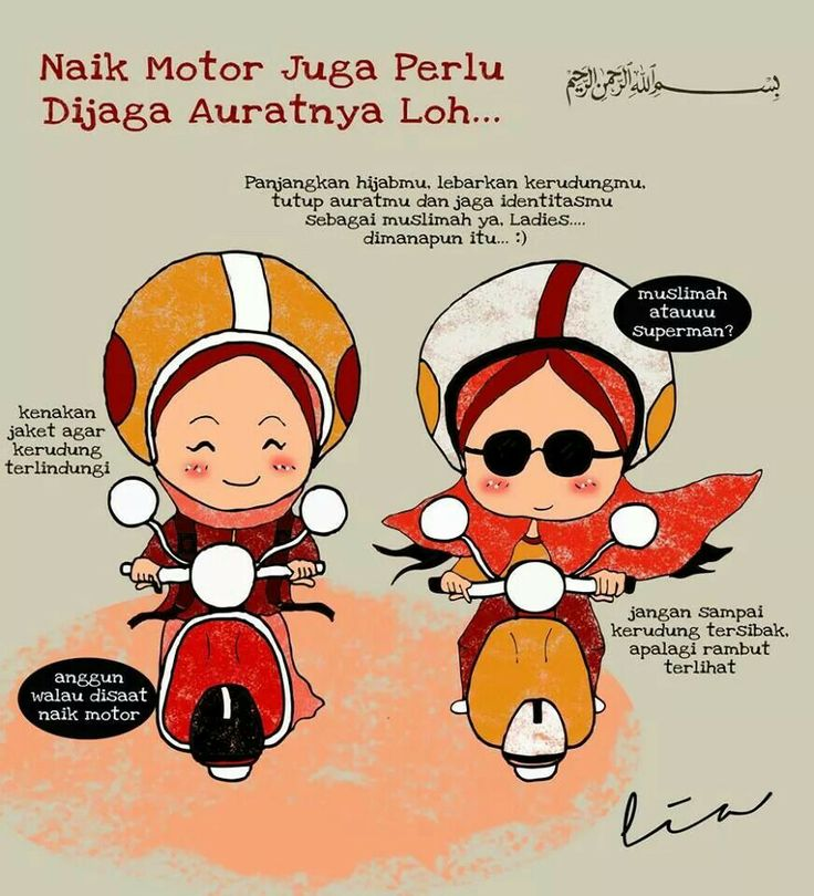 atitude for Rider muslimah :D