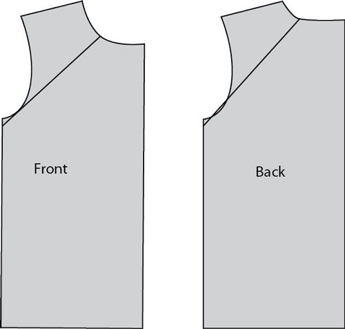 how to make a raglan t-shirt, and other t-shirt variations from a basic t-shirt pattern