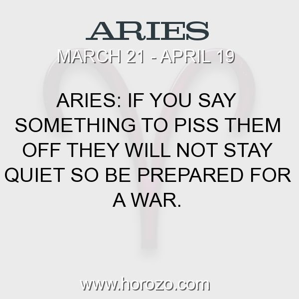 Know Man Aries An Things To Before Dating