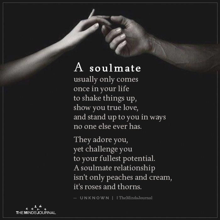 A Soulmate Usually Only Comes in 2020 | Soulmate love