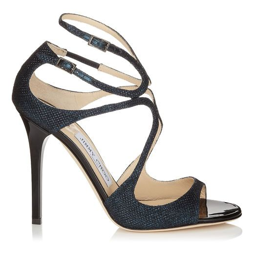 Jimmy Choo Lang black strappy shoe #prom