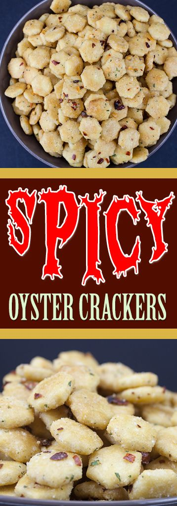 Spicy Seasoned Oyster Crackers
