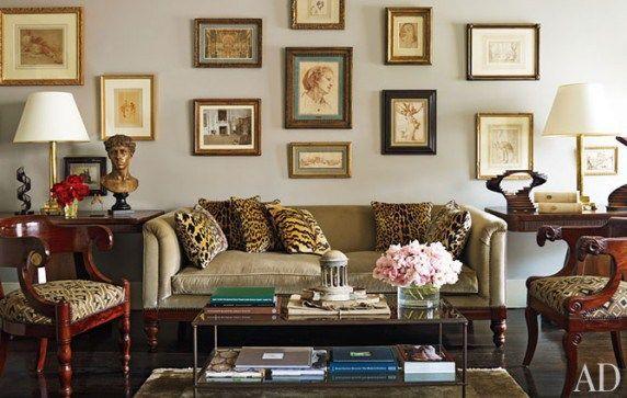 Leopard Living Room Design Ideas