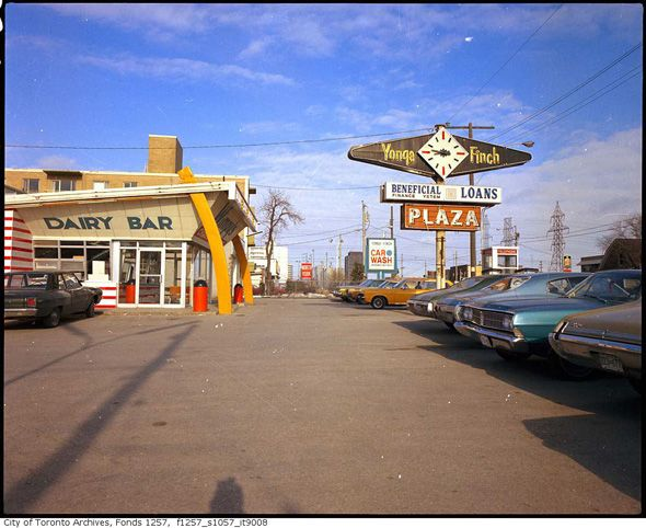 Yonge and Finch Plaza. 1972