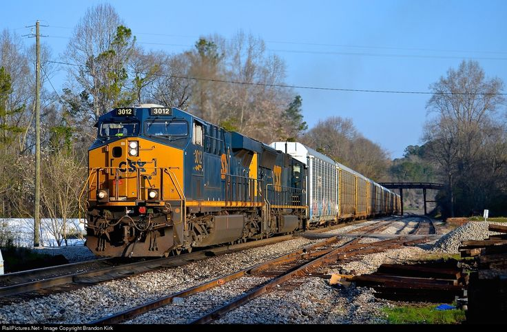 RailPictures.Net Photo: CSXT 3012 CSX Transportation (CSXT) GE ES44AH at Roanoke, Alabama by Brandon Kirk