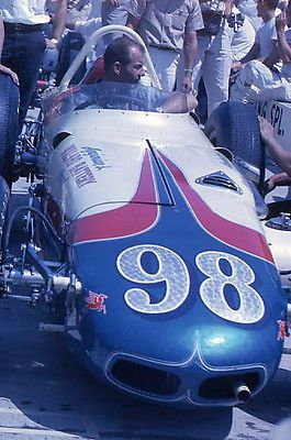 1962 Parnelli Jones #98 Indy 500 Car - Original 35mm Race Slide