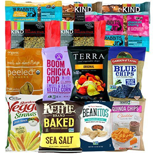 ~!DIY gift basket ideas~ Premium NON GMO & Gluten Free Gourmet Healthy Snacks Gift Box Care Package Variety Pack (15 Count) by Variety Fun - http://mygourmetgifts.com/premium-non-gmo-gluten-free-gourmet-healthy-snacks-gift-box-care-package-variety-pack-15-count-by-variety-fun/