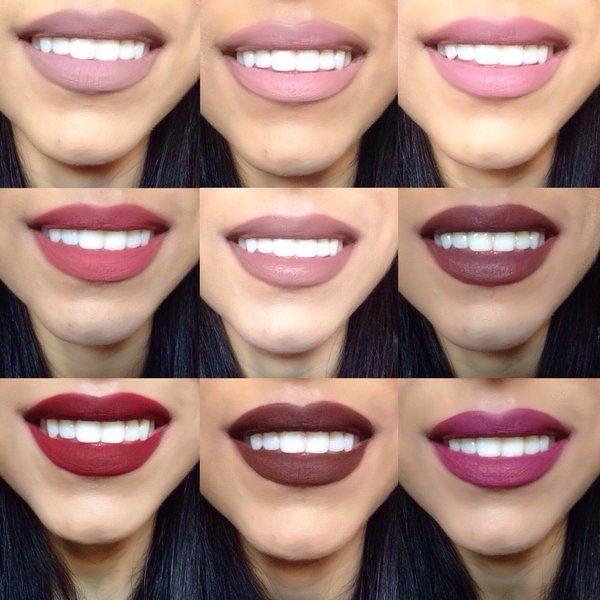 Colourpop Ultra Matte Liquid Lipsticks