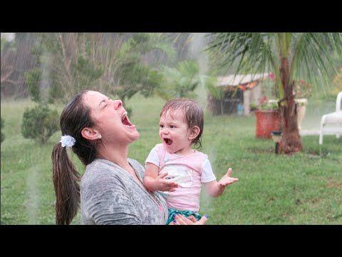 PRIMEIRO BANHO DE CHUVA - FLAVIA CALINA Gente como eu amo Fla e a V DEMAISSSSSSSS!!!♥♥