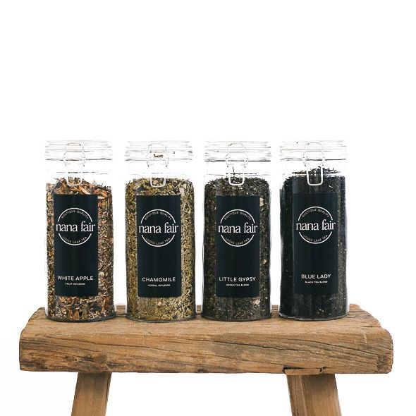 Thanks for thinking of Nana Fair for your store. Our quality and diverse tea range is available in our gift boxes and also in bulk quantities for cafe/restaurants with the option of tins or jars available for storage. Please complete the form below if you would like to become a stockist of Nana Fair. Please allow up to 1 week for a response.