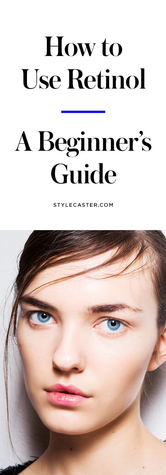 How to Use Retinol—A beginner's guide | Retinoid skin care products for anti-aging | @stylecaster
