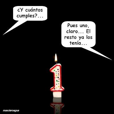 Hoy es mi cumpleaños...