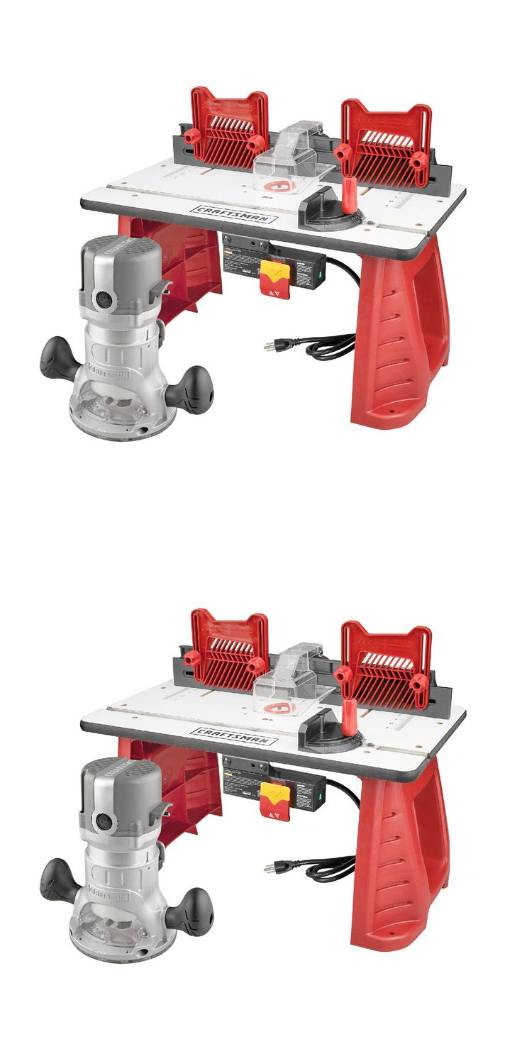 Router Tables 75680: Craftsman Router And Router Table Combo Woodwork Carpentry Power Tool Garage New -> BUY IT NOW ONLY: $134.99 on eBay!