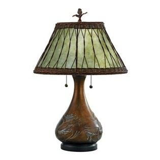 Quoizel Highland Mica Table Lamp Traditional Design And Elegant Charm Make The Quoizel