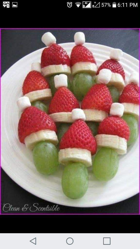 Frutas Postres Navideños Recetas De Comida Recetas Saludables Para Navidad