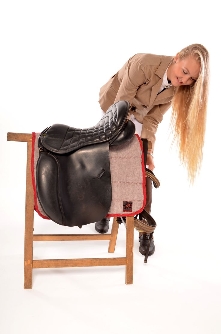 horse pad and jumping coat