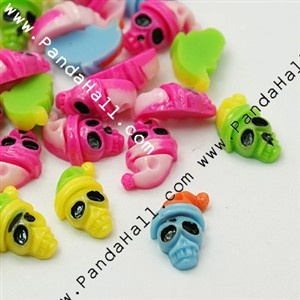 Colorful Resin Cabochons CRES-A790-M-1