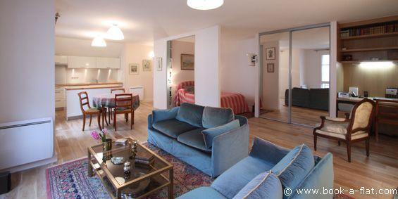 Apartment rental 1 bedroom Paris rue de Linné 5th District - Nearest metro Jussieu