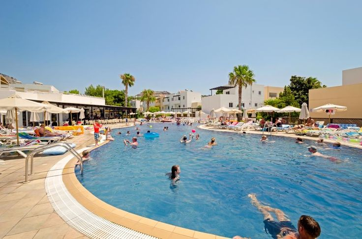 Our large family pool #Pefkos #Rhodes #LindianCollection #MatinaPefkos