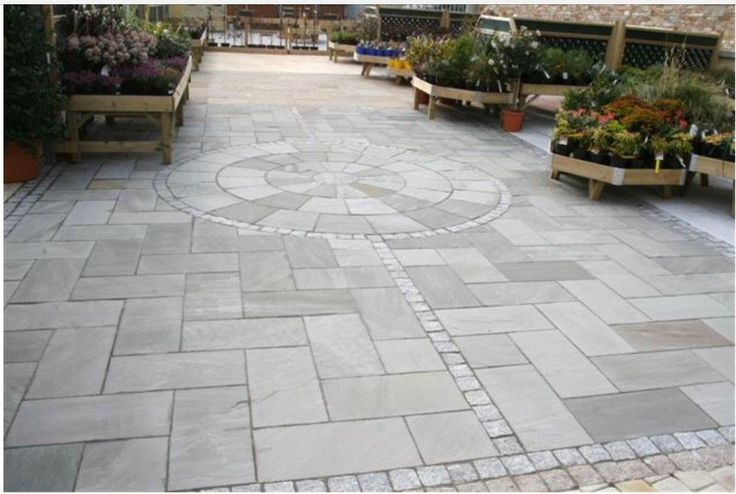 New GREY Sandstone Pavers natural split surface calibrated at 20mm. Description from slatediscounts.com.au. I searched for this on bing.com/images