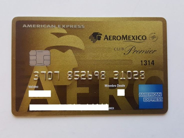 MEXICO,- AMERICAN EXPRESS - EXPIRED - CREDIT CARD - AIRLINE - AEROMEXICO  in  | eBay!