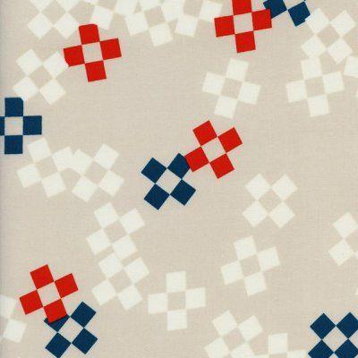 Frock Pixel Print Bowling Pin Rayon