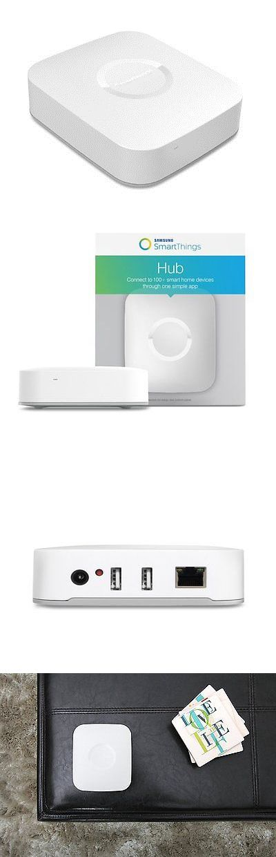 Home Automation Kits: Samsung Smart Things Hub 2Nd Generation New Base Security Monitor Control Home BUY IT NOW ONLY: $130.08