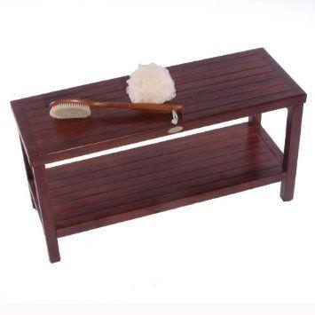 Teak Shower Bench | Teak Shower Stool | Shower Chairs For Elderly