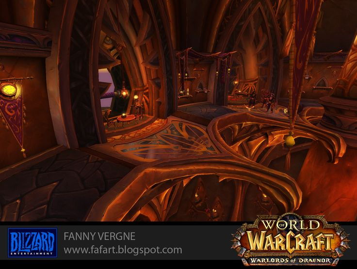 Fanny Vergne Art: Warlords of Draenor