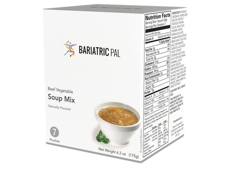 BariatricPal Protein Soup - Beef Vegetable
