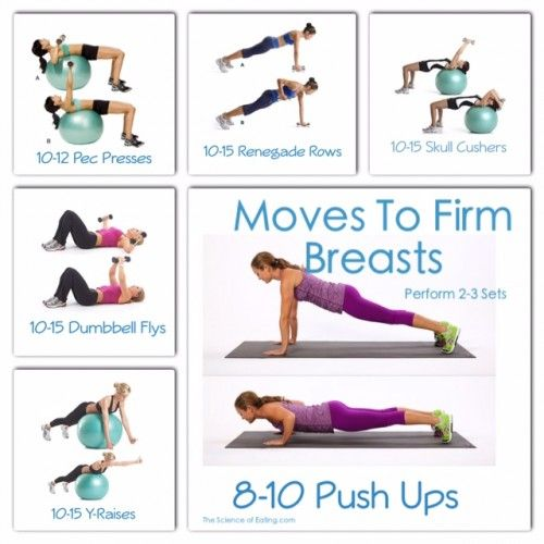 Exercises To Firm  Lift The Breasts  Exercise  Chest -1607