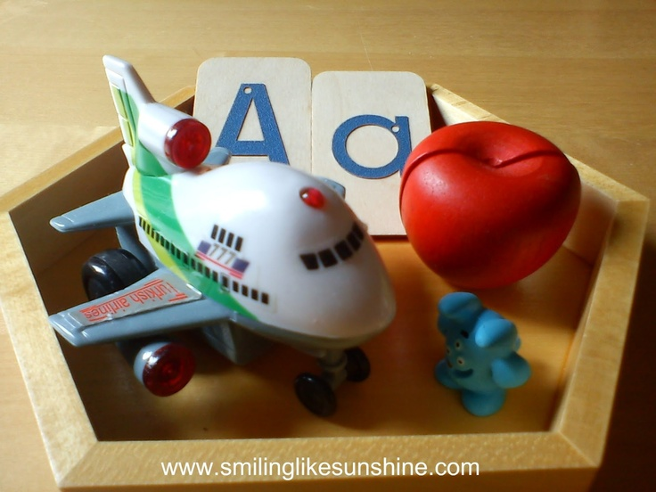 Montessori inspired letter intro sets and DIY Alphabet Boxes