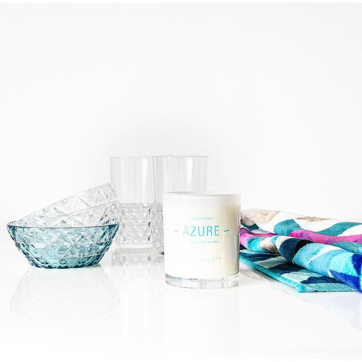 top3 by design - Gascoigne + King - g + k soy jar candle azure limited edition