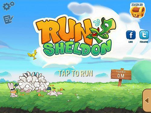 Run Sheldon Main Menu: screenshots, UI