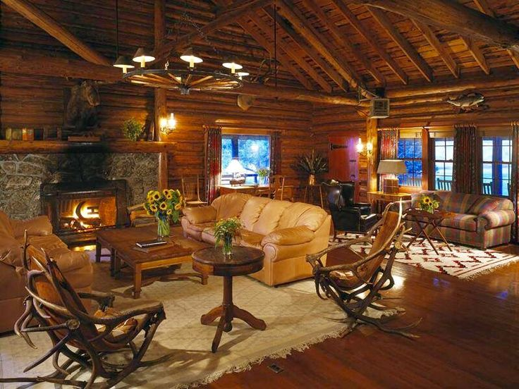 1000+ Images About Modern Log Cabins & Decor On Pinterest