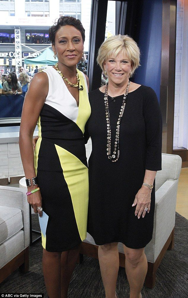 The big news: She revealed her diagnosis on Good Morning America (pictured with fellow can...