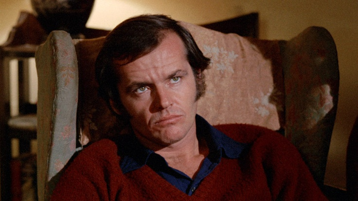 "Nicholson. ""Five Easy Pieces"" (1970). A cinematic instruction guide on how-to deal with people who are full of s**t. Which is basically everyone.: Bobs Rafelson, Easy Pieces, Easy Bottle, Greatest Movie, Posts, Pieces Bobs"
