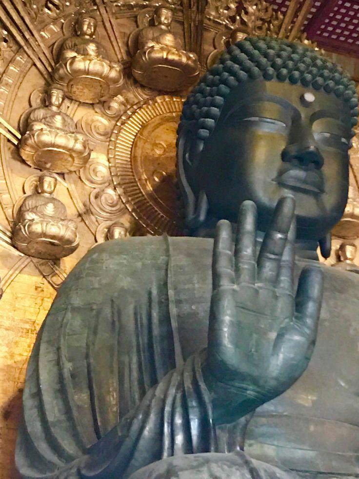 Todai-ji temple Buddha
